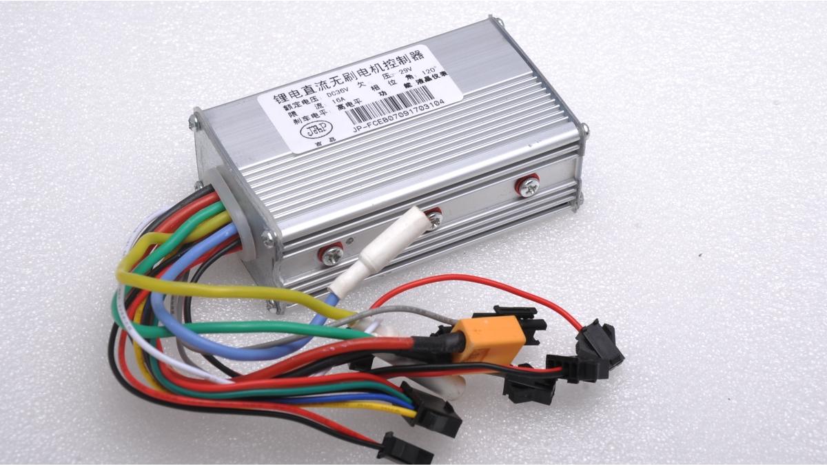 Замена контроллера в электросамокате