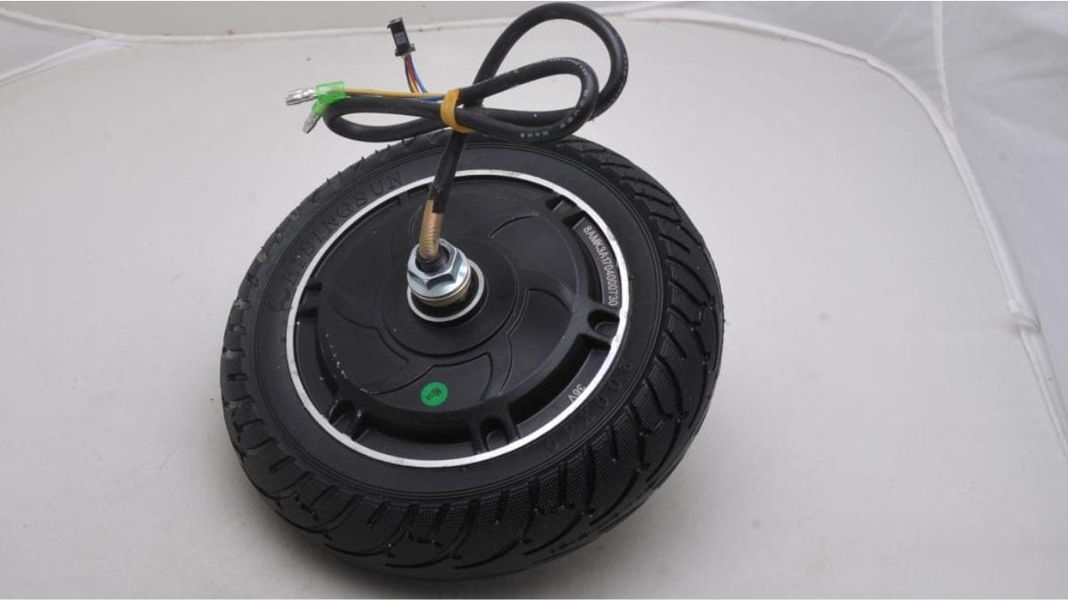 Ремонт мотор-колеса в электросамокате