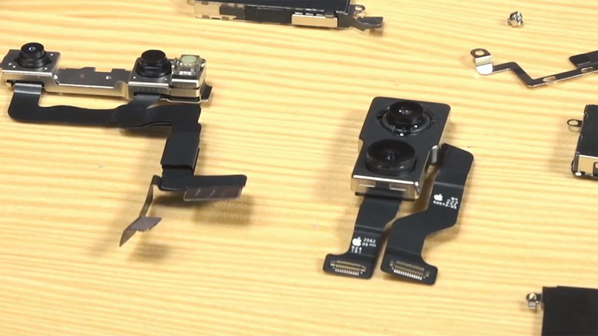 Замена передней камеры на iPhone 11 Pro