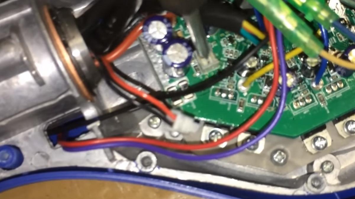 Диагностика контроллера в гироскутера