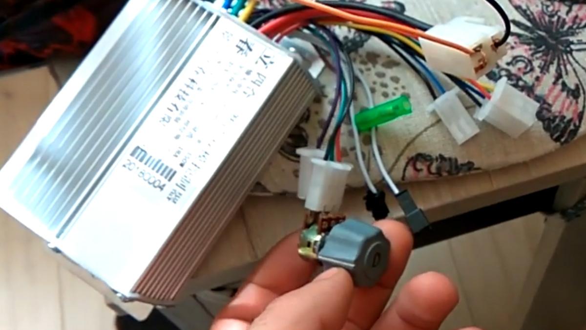 Ремонт контроллера в гироскутера