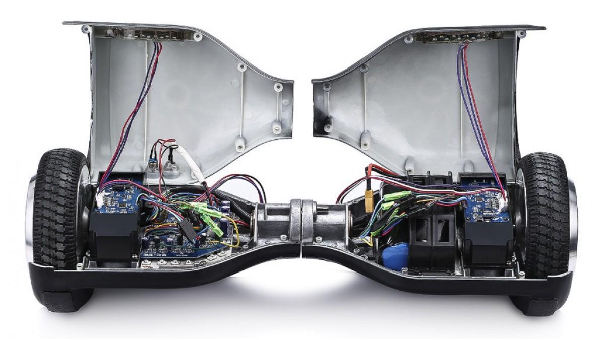 Простая разборка-сборка гироскутера