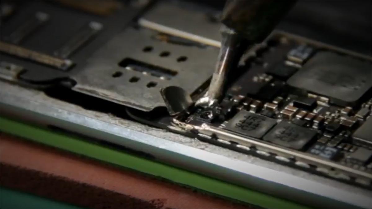 Замена разъёма зарядки Ipad Air 2