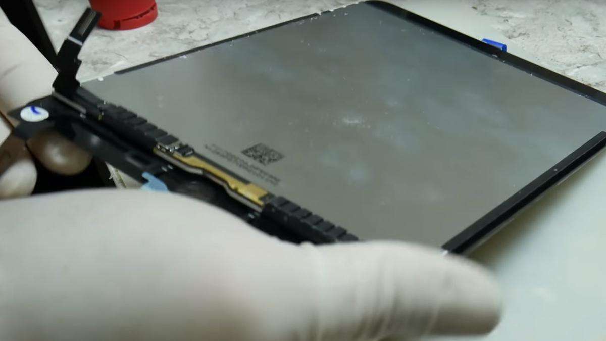 Замена тачскрина на Ipad Mini 4