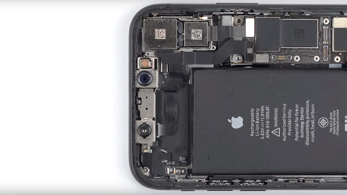 Замена голосового динамика на iPhone 11
