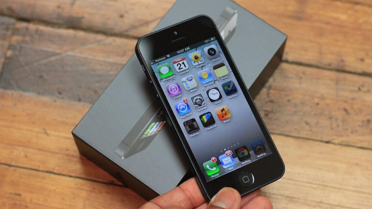 Программный ремонт на iPhone 5