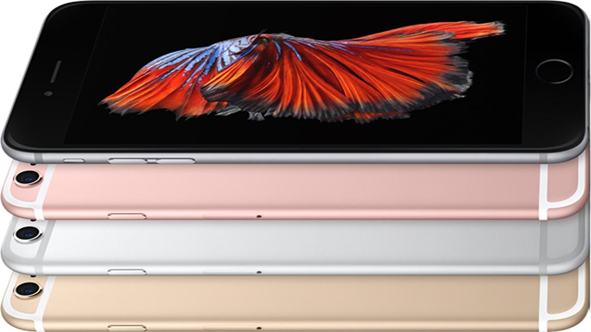 Программный ремонт на iPhone 6S Plus