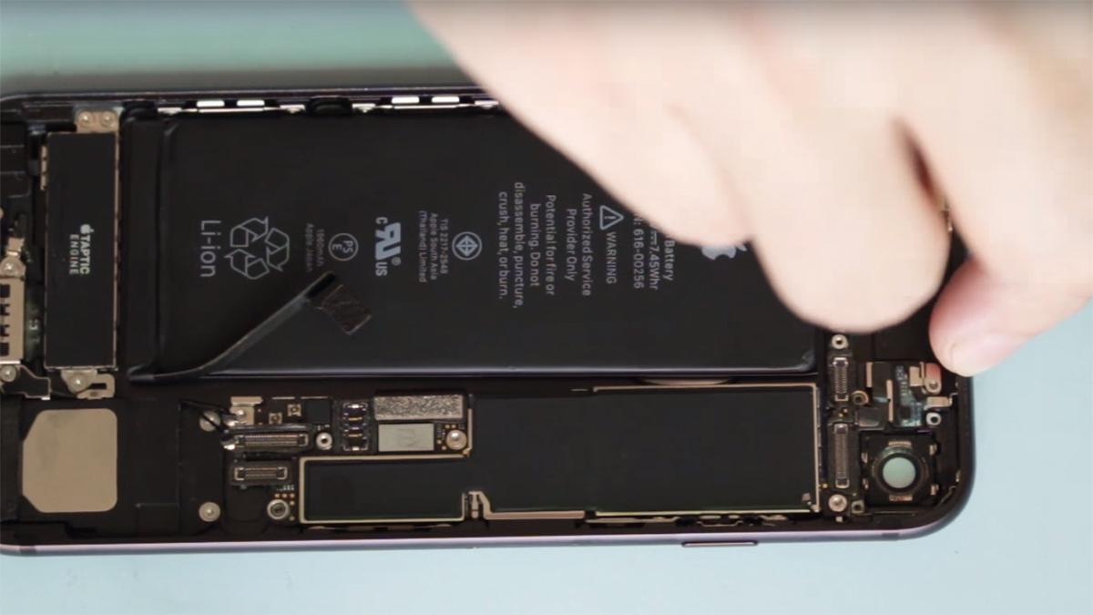 Замена основной камеры на iPhone 7