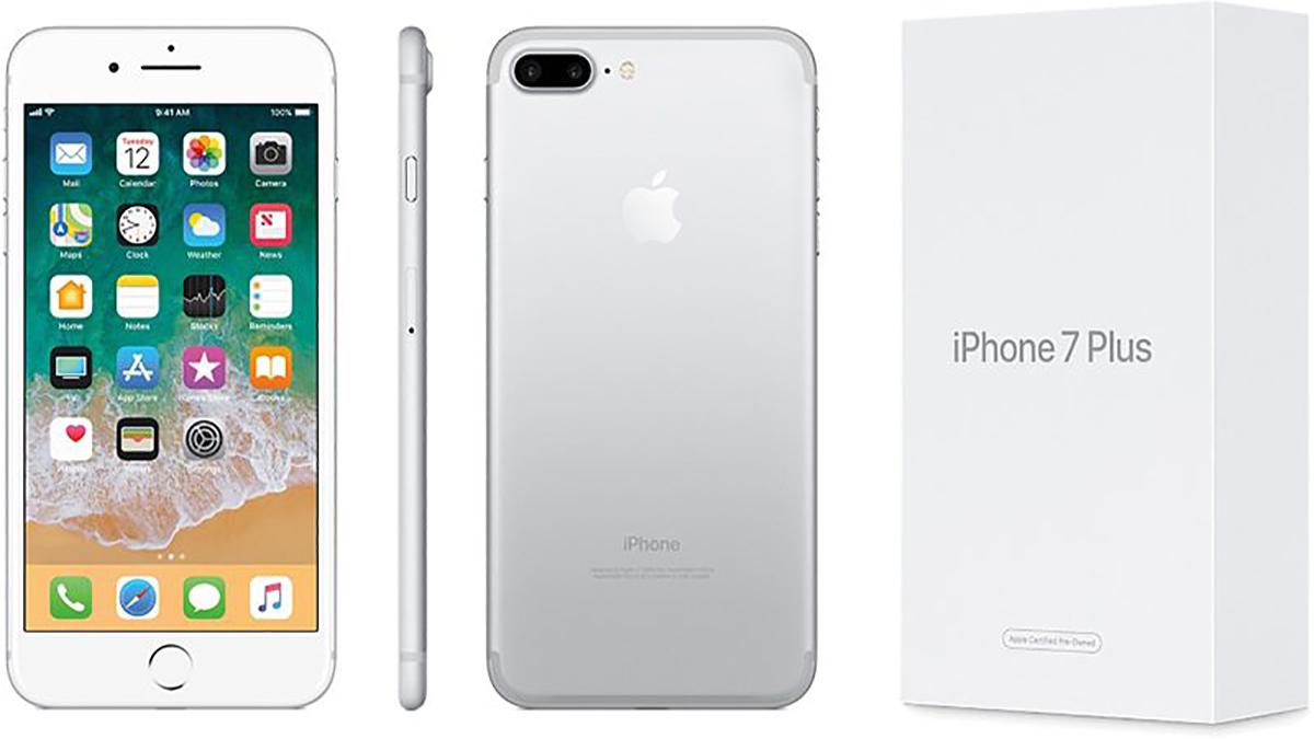 Программный ремонт на iPhone 7 Plus