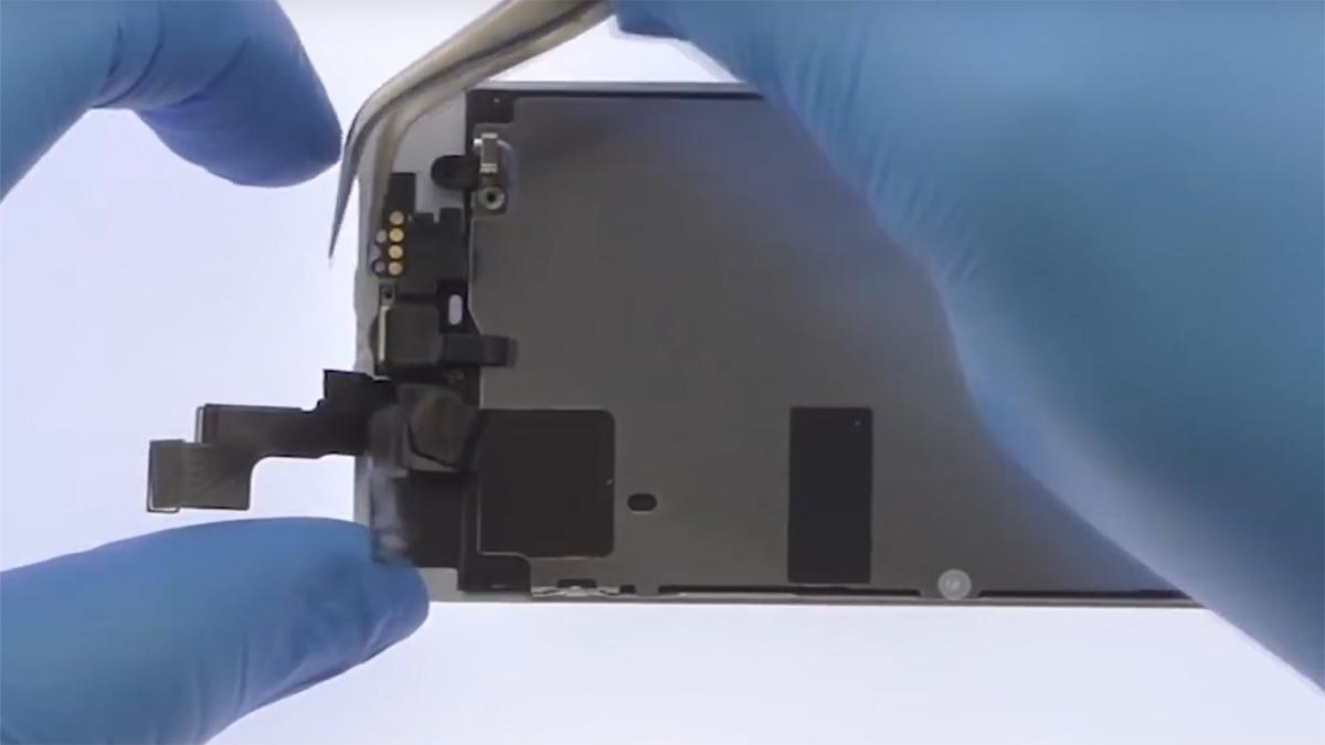 Замена передней камеры на iPhone SE