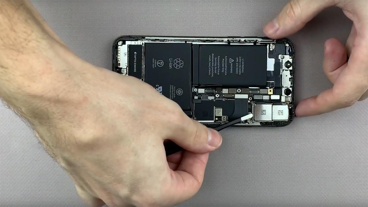 Замена основной камеры на iPhone X