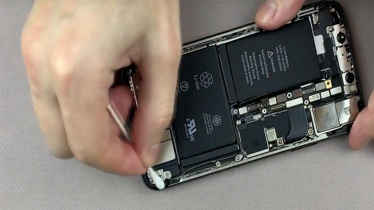 Замена корпуса на iPhone X