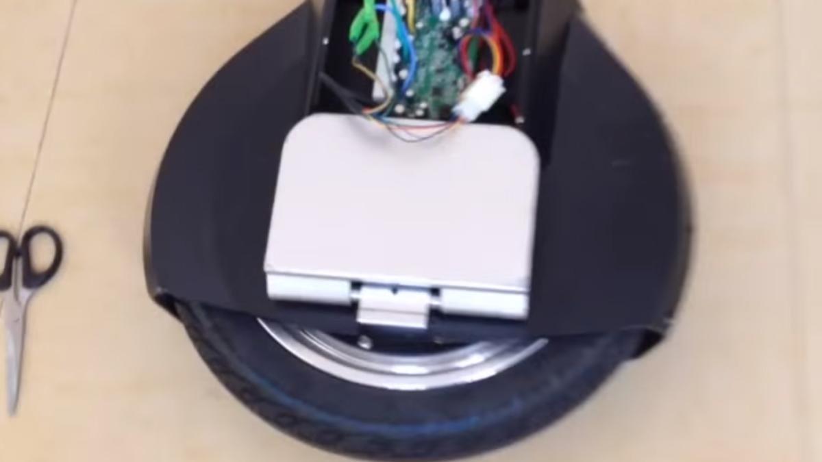 Герметизация корпуса и контроллера в моноколеса