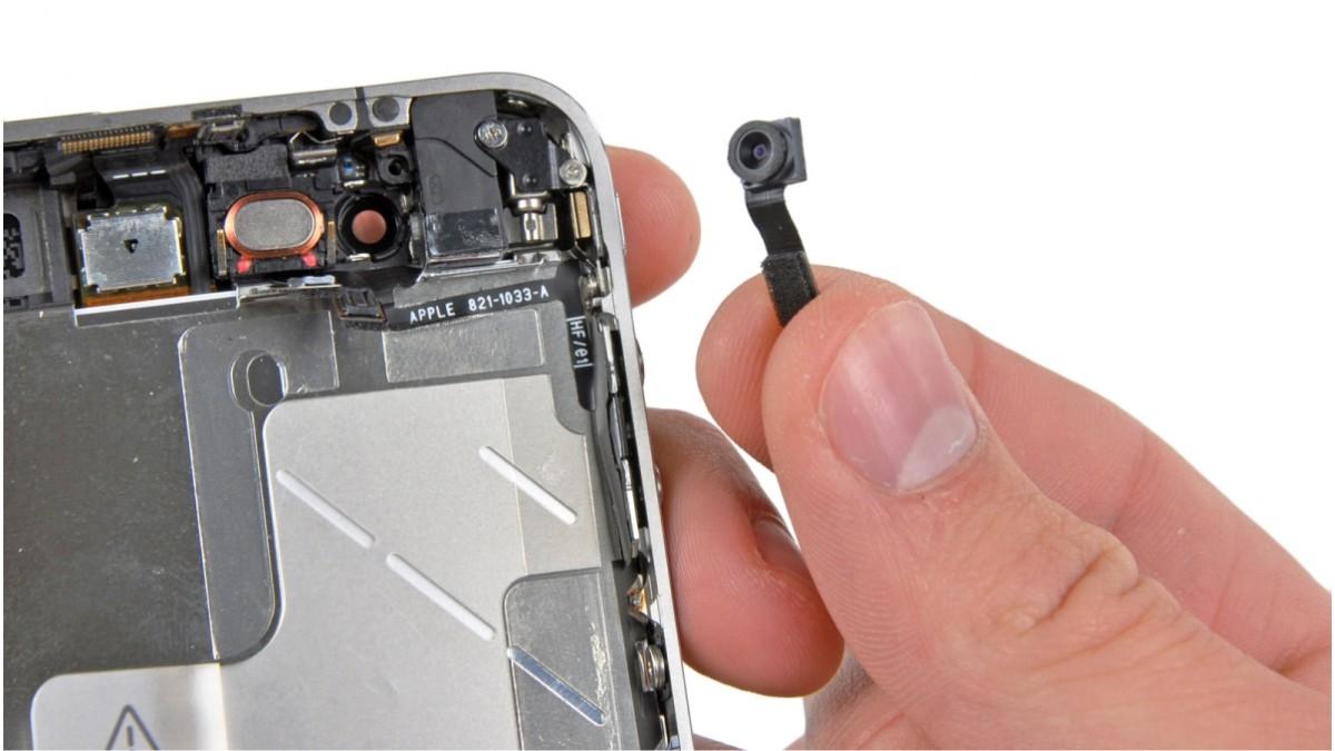 Замена основной камеры на iPhone 4